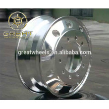 22.5x8.25 Polished Bothsides Aluminum Truck Wheels